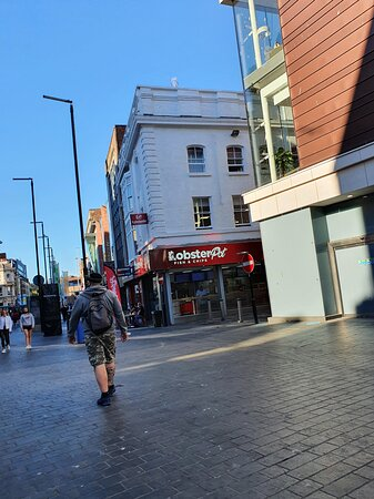The Lobster Pot in Liverpool Commercial District