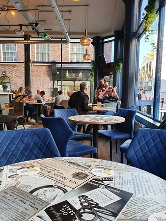 Angus Tap And Grind in Liverpool Commercial District