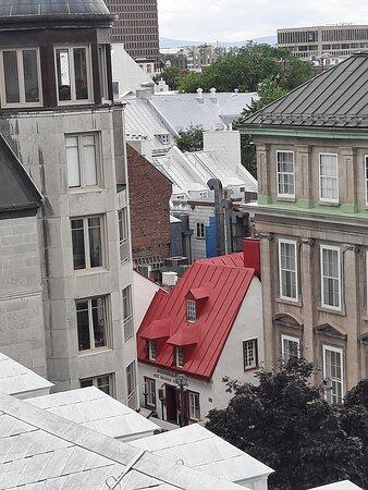 la vieille ville depuis la terrasse