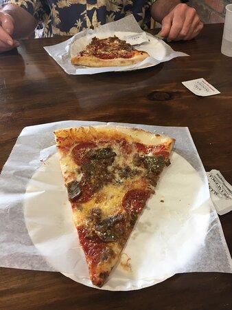 Nice big piece of pizza!