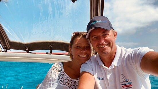 Catamarán tour