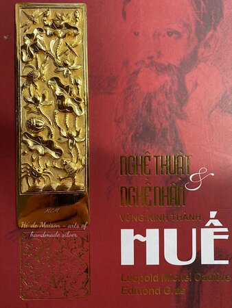 Lotus bookmark 100% handmade in Vietnam Pure silver and gold-plated 13cm*4.1cm