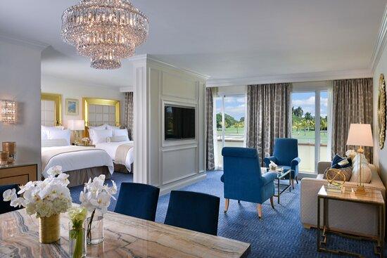 The Trump Spa Premier Queen Suite