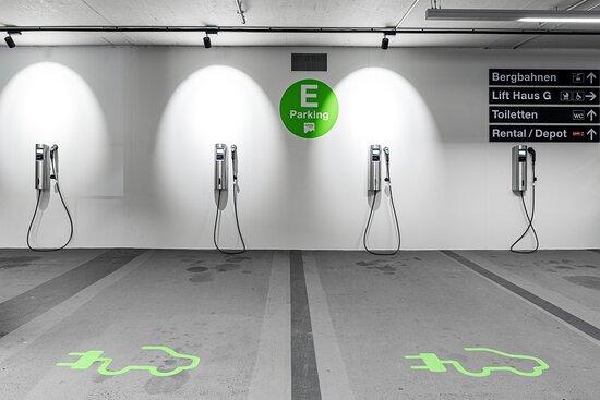 E Car Parking