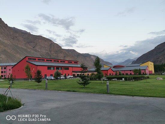 Uca campus Khorog www.pamirexperience.com Pamir Highway tours Pamir tours Tajikistan Kyrgyzstan
