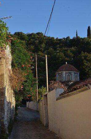 είσοδος του χωριού