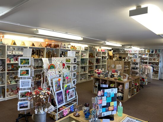 Bognor Regis, UK: From the counter looking down the shop