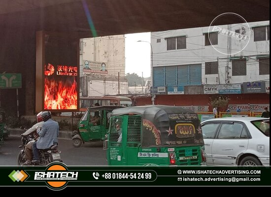 Mirpur, Bangladesch: The Best Quality LED Moving Display Rent & any Moving Display Ad/ Advertising Agency Company in Bangladesh... Please Website Check...👇👇👇 https://ishatechadvertisingbd.com/.../led-sign-message.../ @ Terms and Conditions: Two Years Service's with Materials Warranty. ►Contact us for more information: Cell: 01844 - 542 499, 01844 - 542 498 ►Visit our Sent: E-mail: ishatech.advertising@gmail.com E-mail: info@ishatechadvertisingbd.com