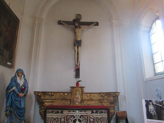 Busseto, Italien: Crocifisso parlante