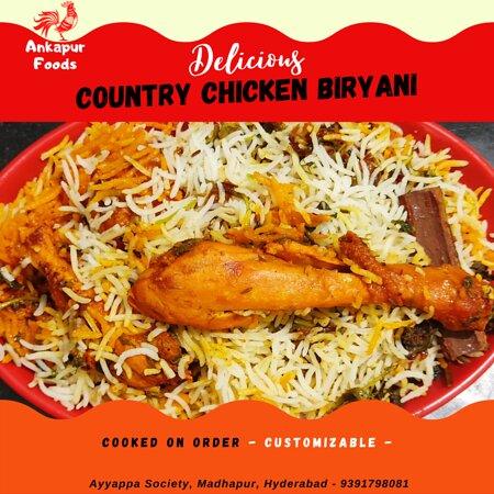Chicken Dum Biryani - as world knows  - Hyderabad Special