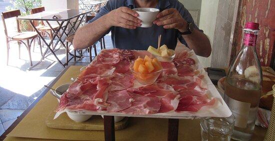 Busseto, Italien: Tagliere per due Salsamenteria Baratta