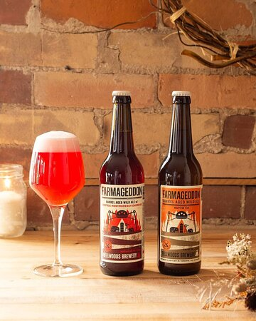 Now on the menu & online: Bellwoods Brewery Farmageddon Batch 15 & Farmageddon Norfolk Montmorency Cherries 2020!  🍒🚜🍐 These Bellwoods barrel-aged wild farmhouse ales highlight the simple, transformative elements of beer + oak + time.  They are refined, effervescent, and delicious beers worthy of special occasions and idle weeknights. 🍋🍯