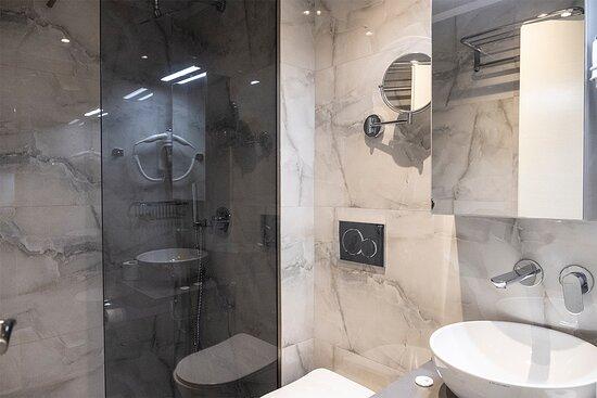 New modern bathrooms