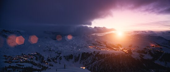 La Plagne - Panorama. © Olivier Allamand