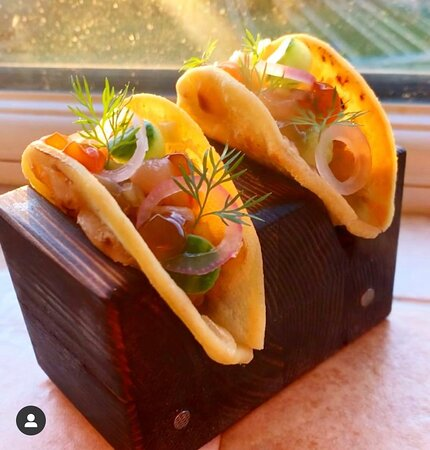 Mackerel Taco's - Cornish Mackerel Tartare Ponzu & Pickles   Mackerel is one of my absolute favourites. We are so blessed to have such incredible produce available right on our doorstep