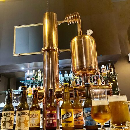 Notre tireuse à bière vous propose toute l'année des bières artisanales de qualité ! Celle du moment La Musse, bière vendéenne qui vous étonnera par ses saveurs.