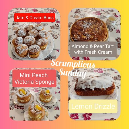 Don't want to share? No problem get your own individual Victoria Sponge!