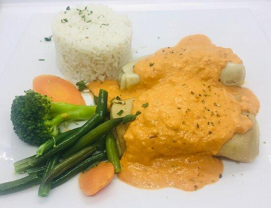 CREPE DE VEGETAIS vegetables crepe