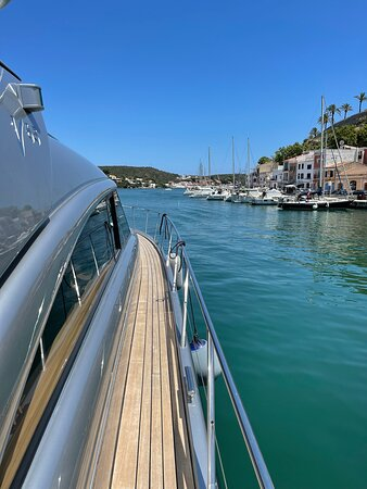 Going on the beautiful LAYA boat was the best decision we made in Menorca.