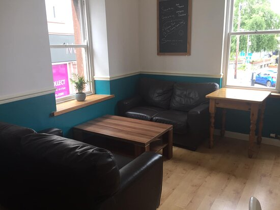 Upstairs cozy corner prefect for a catch-up over coffee/tea with your friends