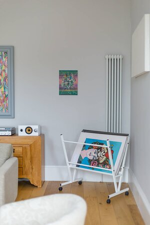 Art from local Scottish Artists is available to purchase throughout Crescent House
