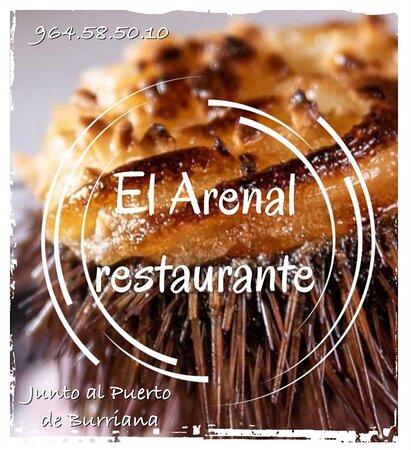 El Arenal restaurante, Junto al Puerto de Burriana. 964.58.50.10