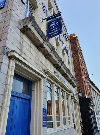 The Ship And Mitre Pub in Liverpool Commercial District