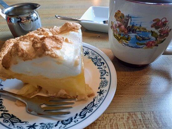 Great lemon meringue pie at Earl's