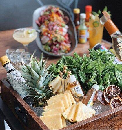 Fiesta par dos (bar self-service & choix du chef à volonté)
