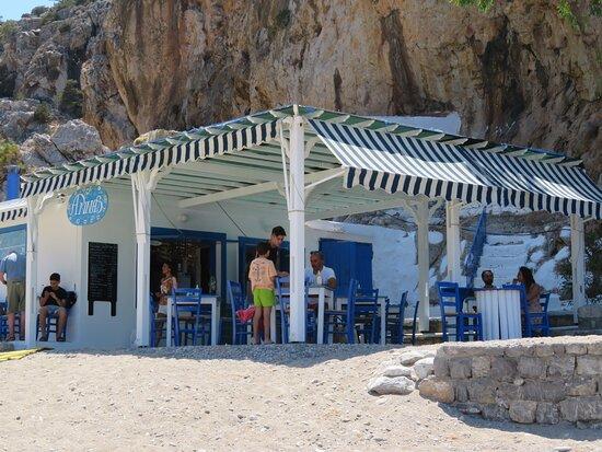GR: Karpathos; Paralia Achata Cafenion