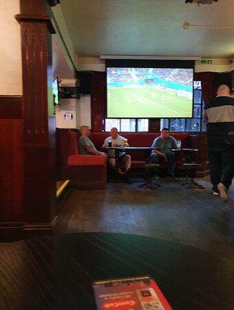 Busy pub