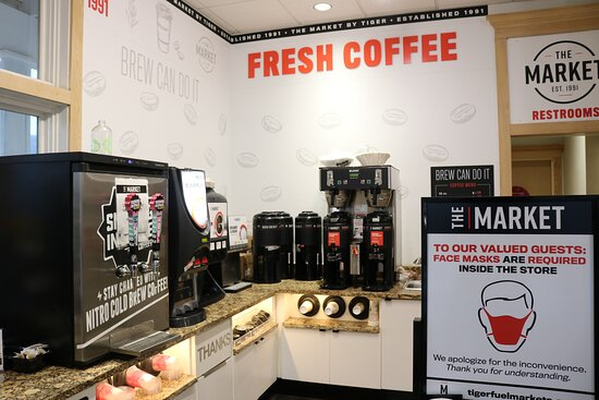 Grab a cup of fresh coffee in the morning!