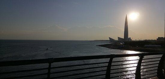 Вид с Яхтенного моста