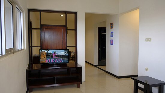 Living room of Family suite
