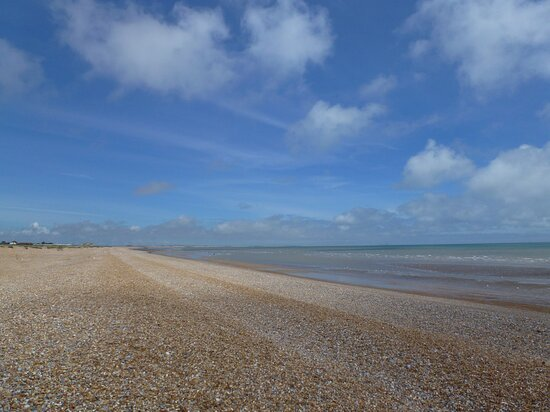 The beach looking towards Camber