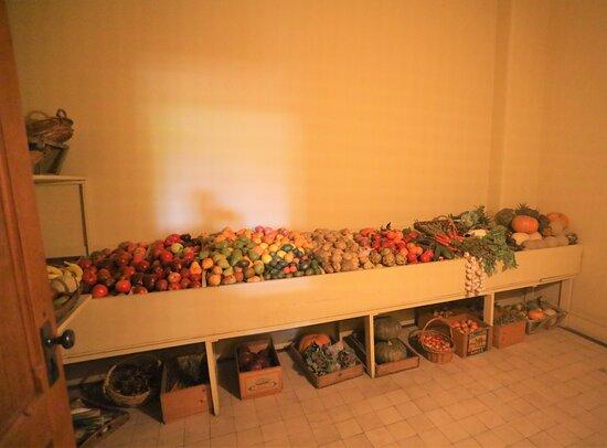 1 Tag Biltmore Estate Tour (Abfahrt von Atlanta) B1: Représentation des fruits et légumes pour la confection des repas