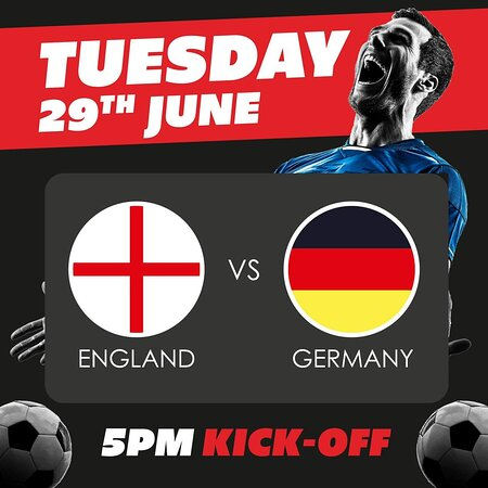 ⚽️ 🏴 England's true test! 🇩🇪 ⚽️  This will be England's first real test! 🤔 But there's no better place to watch than at the pub whilst enjoying some great food and having a few cheeky pints 🍻  Tables are limited, so please book in advance in our bar area 📺  Best be quick to book 📱 01772 684288 or book online 💻 www.bellbottlepubkirkham.co.uk  #WeAreMarstons #Euros #LiveFootball #BookNow