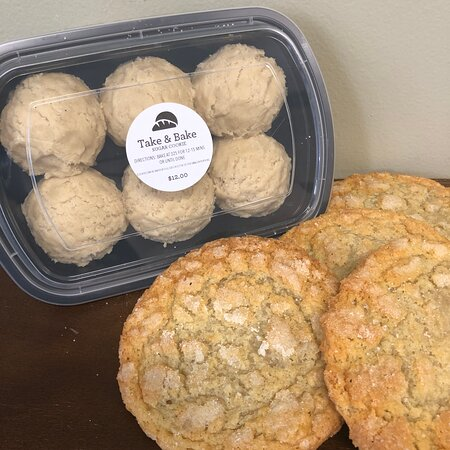 Love our cookies, take them home with you and have hot out of the oven cookies every day!