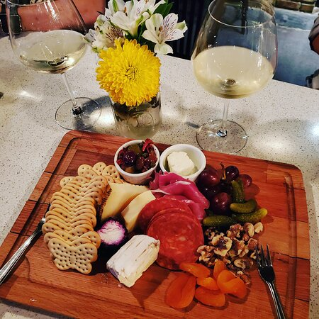 Our Chose 7 Charcuterie Board - where you pick your 7 favorite meats & chesses!