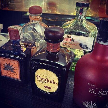 Große Auswahl an Premium-Tequilas!
