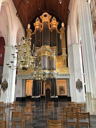 Interieur, orgel