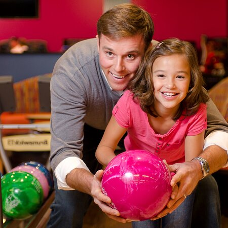 BOWLING - Our bowling lanes feature the latest scoring technology, comfortable sofa seating, a premium sound system and high-def video on huge 4-lane wide video screens. We offer a full service menu conveniently served at your lane for a deliciously wonderful way to combine friends, food and fun.