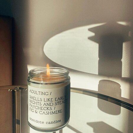 Candles that can be purchased in the Mother's Natchez store.