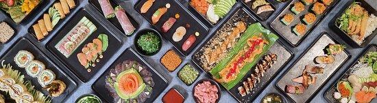 Eine kleine Auswahl unseres Sushi!