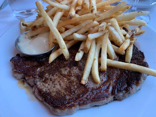 Steak Frites (dinner menu)