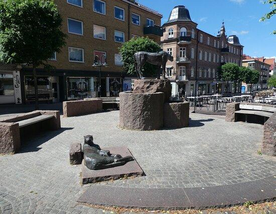 Statyn ''vaktarna''