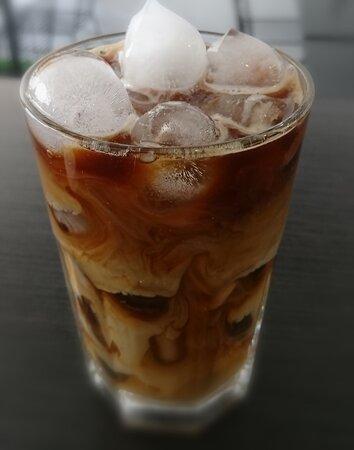 Finnsnes, Norge: Nyyyyydelig iskaffe😋😋😋 Ta med, eller nyt den her på En kaffe te 🌿