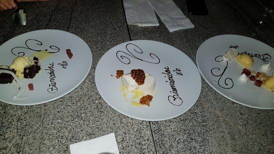 MB desserts