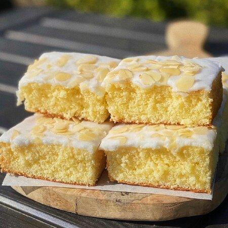 Gluten Free Almond Traybake home made by Di