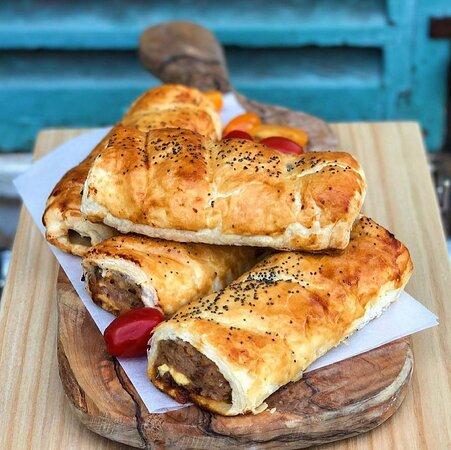 Artisan Sausage Rolls home made by Julie